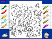 Jungle Coloring Book